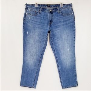 "Gap ""sexy boyfriend"" jeans size 32 short"